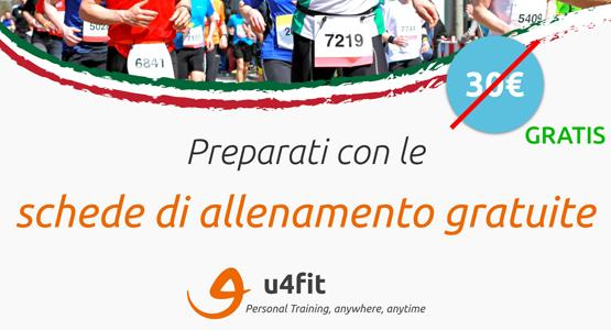 Allenamento esclusivo gratuito offerto da u4fit
