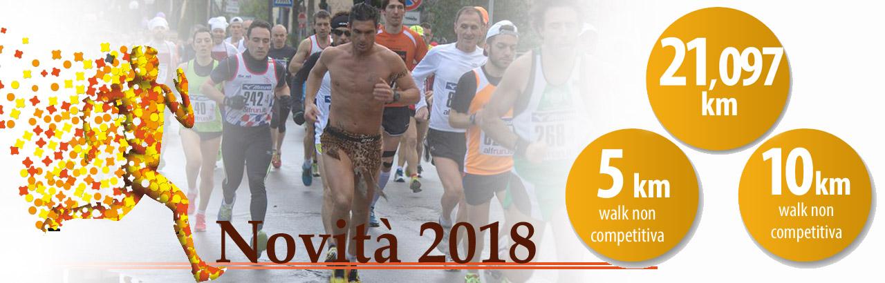 Novità 2018 della Puccini Marathon